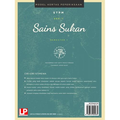 Ebook ONLINE: MODEL KERTAS PEPERIKSAAN SAINS SUKAN SEMESTER 1 (2020)