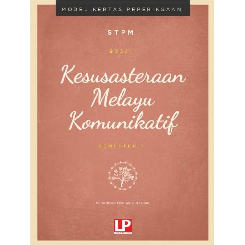 eBook ONLINE:Model Kertas Peperiksaan Kesusasteraan Melayu Komunikatif Semester 1 2020