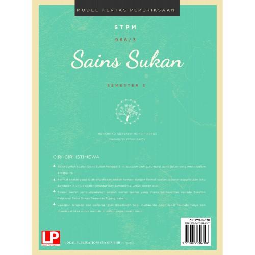 eBook ONLINE:Model Kertas Peperiksaan (MKP) Sains Sukan Semester 3 (2020)
